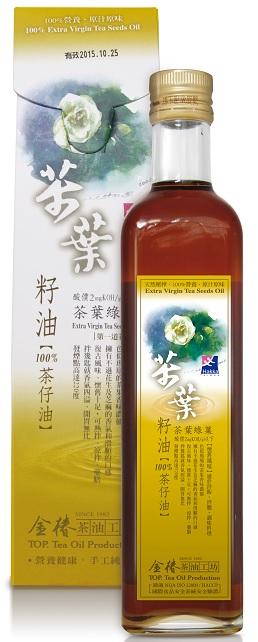 茶葉綠菓~茶葉籽油500ml